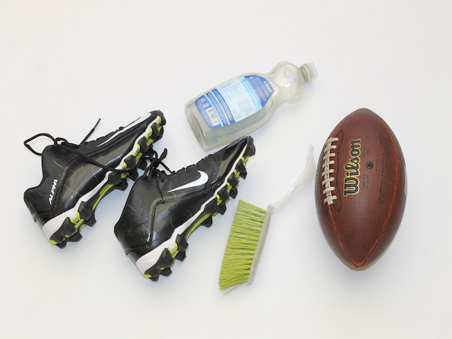 cleaning cleats 2
