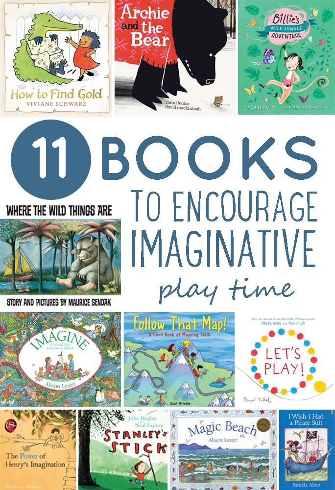 11 Picture Books to Encourage Imaginative Play