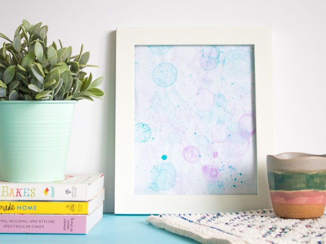 How to Make Bubble Art