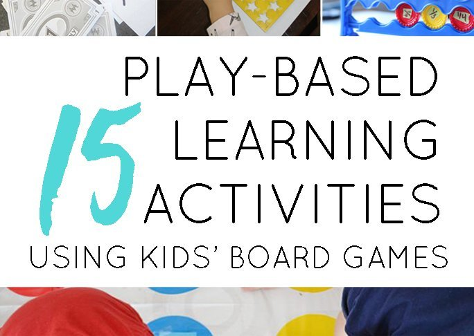 Play Based Learning Activities Using Kids' Favourite Board Games