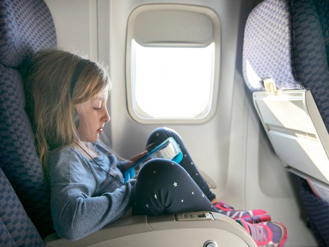 Sanity Savers for Flying With Kids