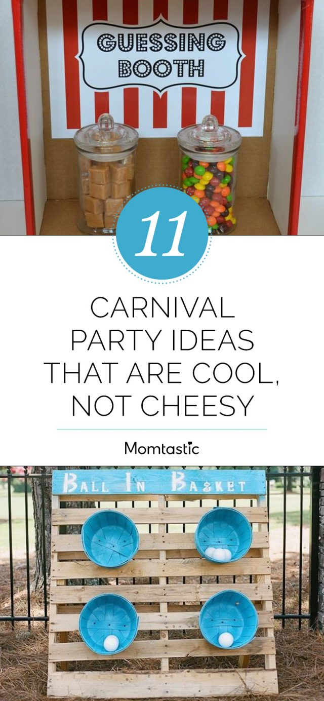 11 Carnival Party Ideas That Are Cool, Not Cheesy