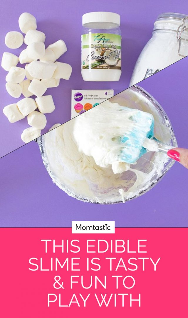 This Edible Slime Is Tasty & Fun To Play With