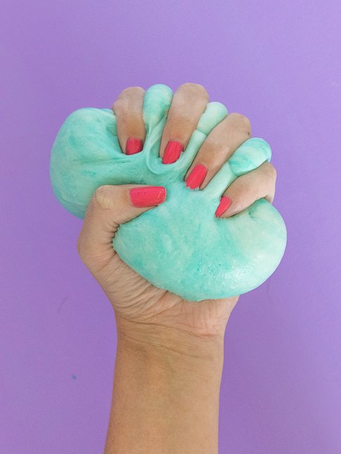 Kids will Love this Edible Marshmallow Slime