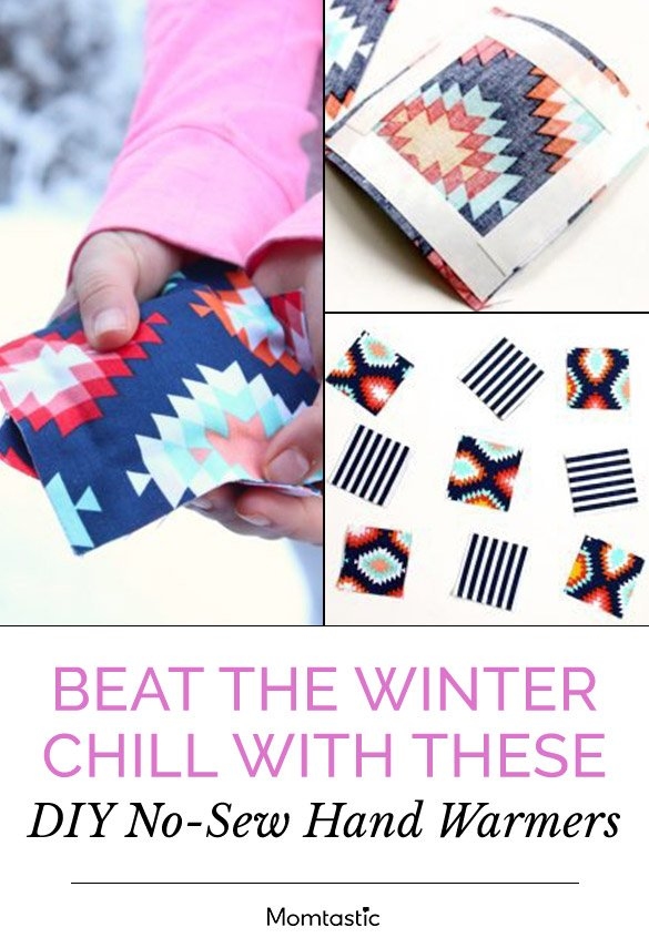 Beat the Winter Chill With These DIY No-Sew Hand Warmers