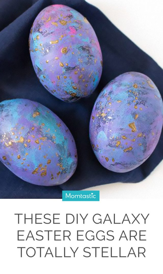 These DIY Galaxy Easter Eggs Are Totally Stellar