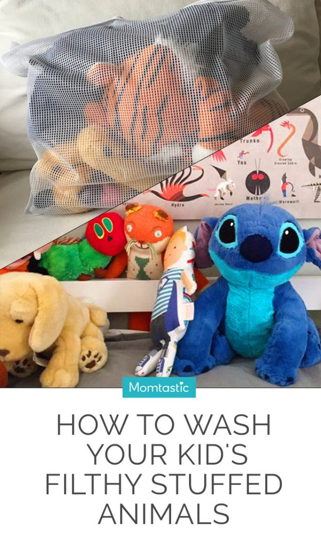 How To Wash Your Kid's Filthy Stuffed Animals