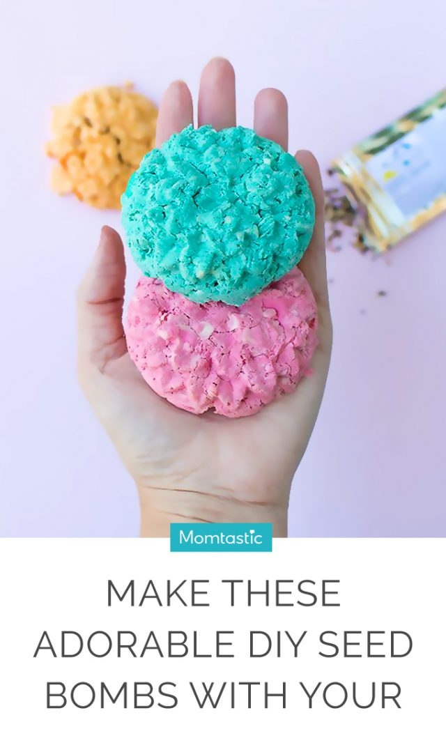 Make These Adorable DIY Seed Bombs With Your Kids