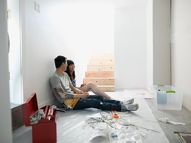 how to diy with your spouse