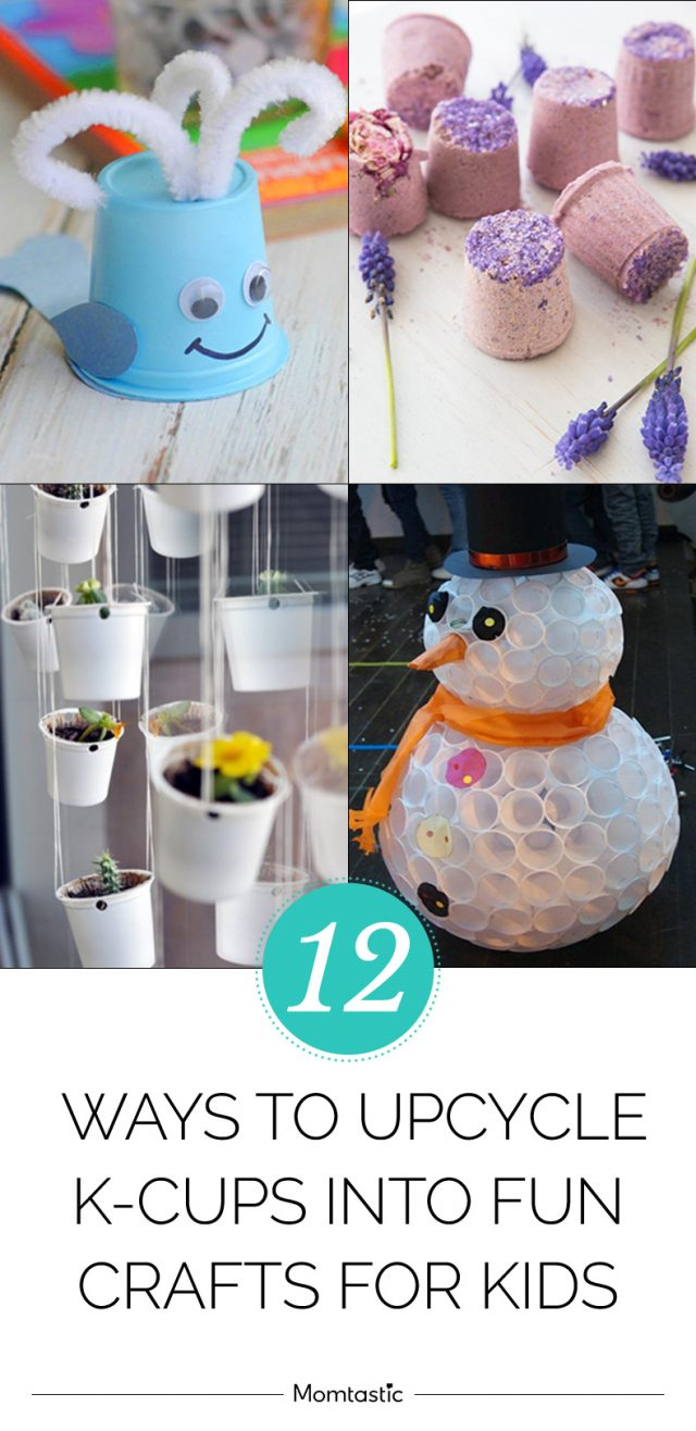12 Ways to Upcycle K-Cups Into Fun Crafts for Kids