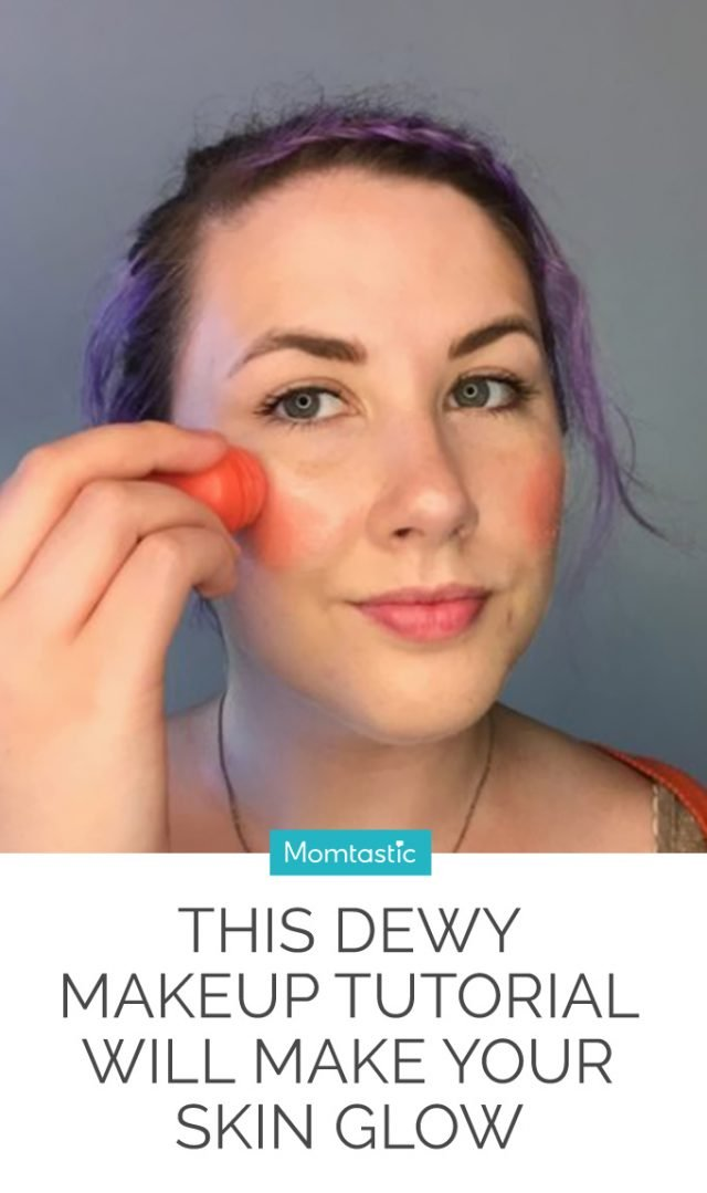 This Dewy Makeup Tutorial Will Make Your Skin Glow