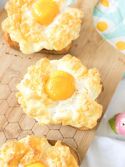Clouds Eggs will be Your New Favorite Breakfast
