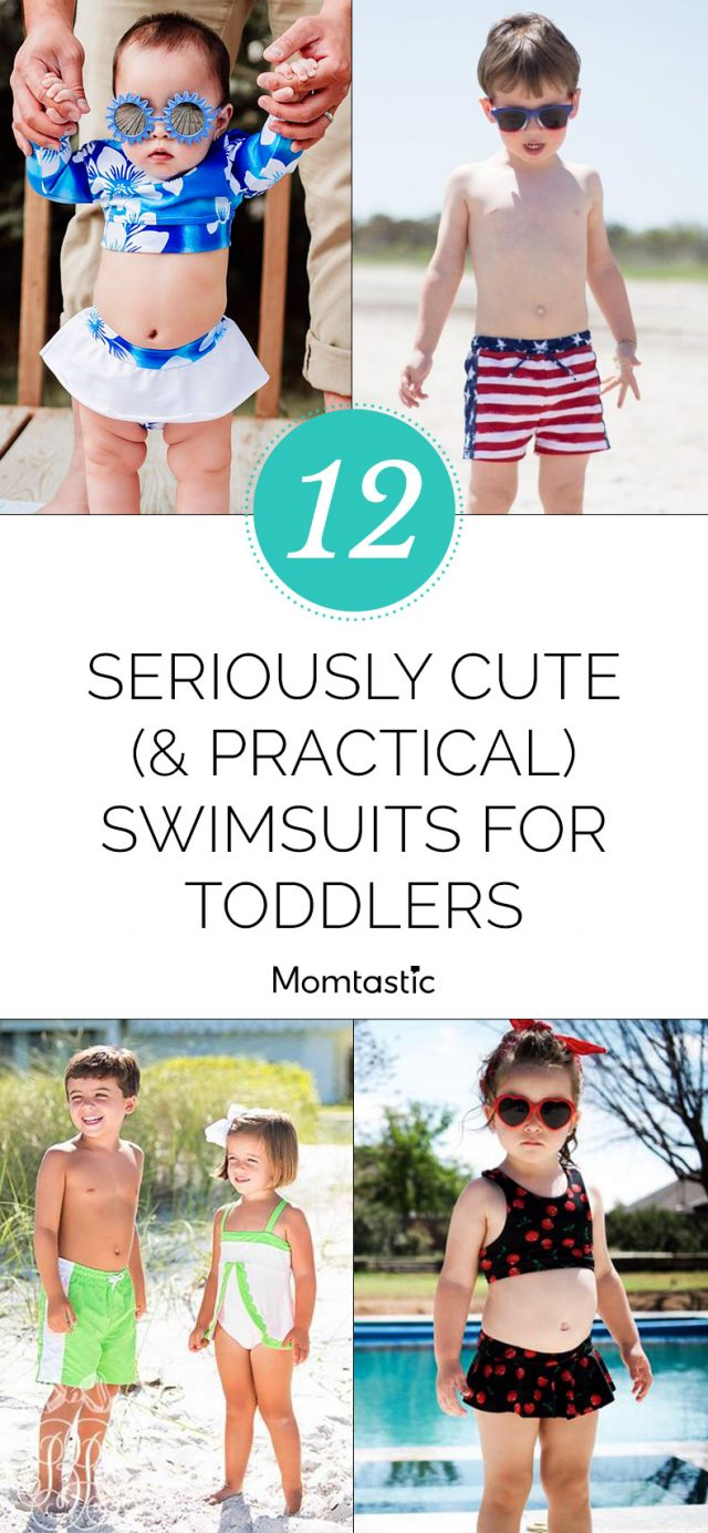12 Seriously Cute (& Practical) Swimsuits for Toddlers