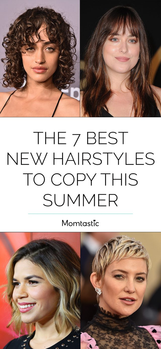The 7 Best New Hairstyles to Copy This Summer