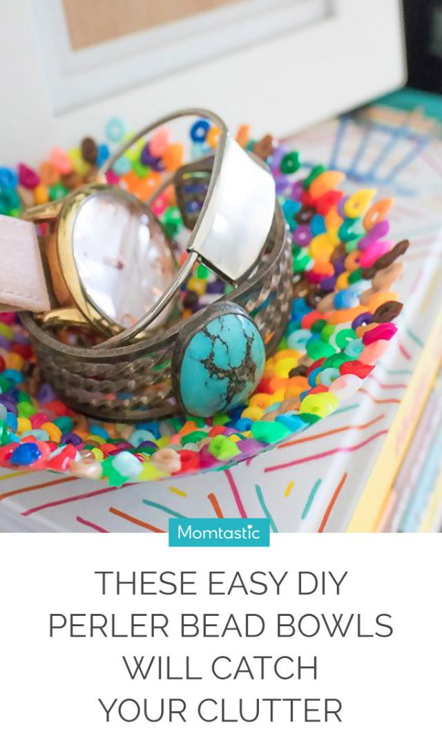 These Easy DIY Perler Bead Bowls Will Catch Your Clutter