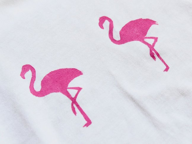 Stand Out From The Flock With This DIY Flamingo Shirt