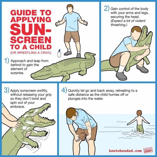 The funniest memes about summertime with the kids on @itsMomtastic by Kim Bongiorno featuring How to Be a Dad