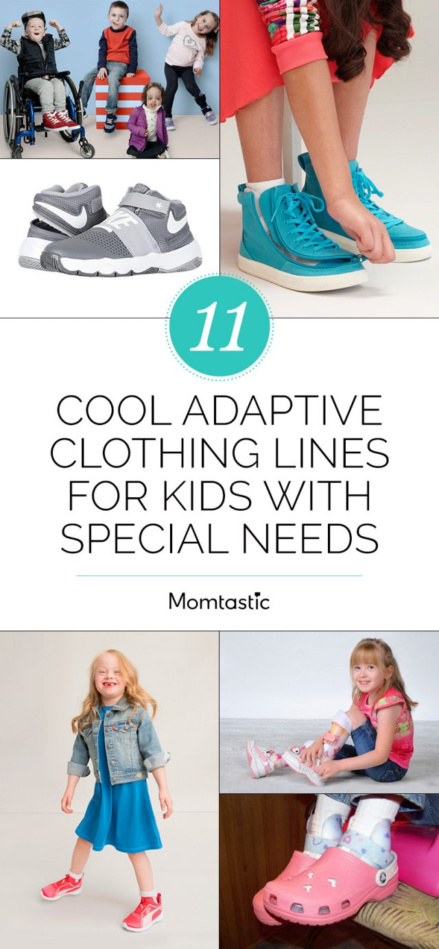 10 Cool Adaptive Clothing Lines for Kids With Special Needs