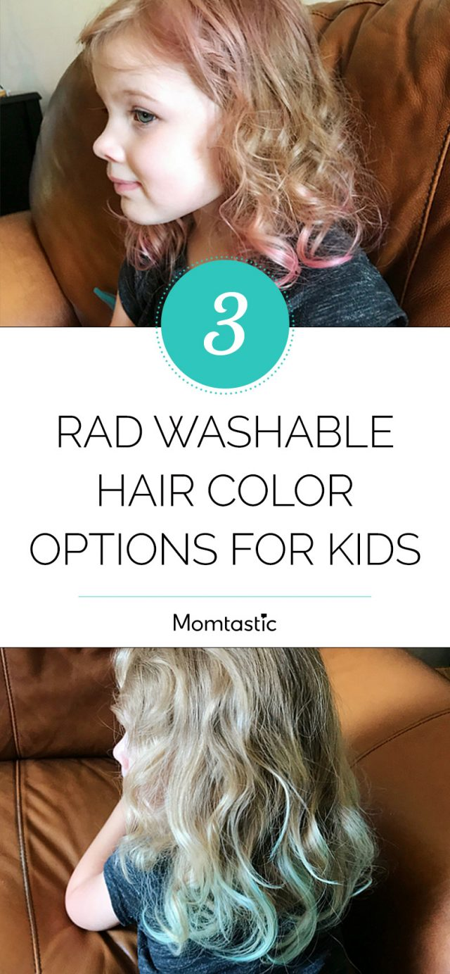 3 Rad Washable Hair Color Options for Kids