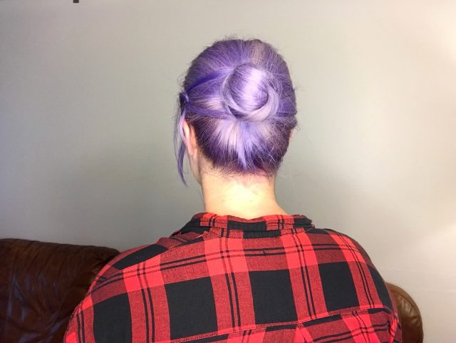 Quick and Easy Updo for Busy Fall Mornings