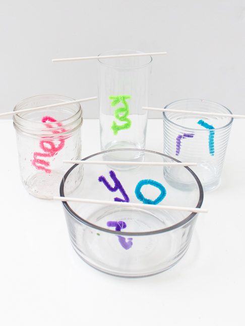 Grow Personalized Crystal Names in Less Than One Day