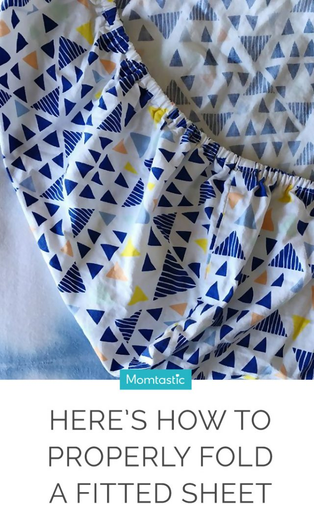 Here's How to Properly Fold a Fitted Sheet