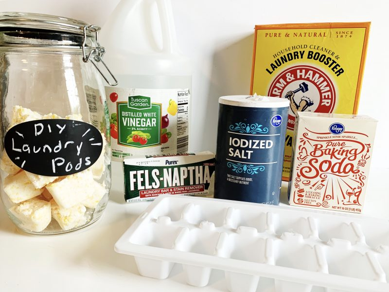 DIY natural laundry pods