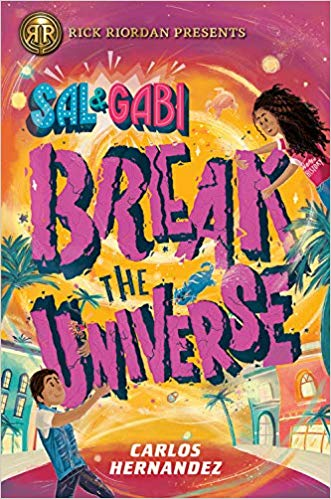 The Best Books to Pick Up This Holiday Season by @letmestart for @itsMomtastic featuring SAL AND GABI BREAK THE UNIVERSE