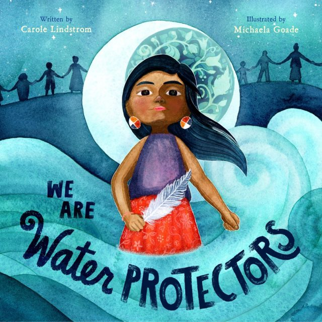 How to Make Sure Your Kids Have a Diverse Bookshelf (and Actually Read from It) @letmestart on @itsMomtastic | Raising readers, kind kids, and encouraging empathy. Featuring the book We Are Water Protectors by Carole Lindstrom; Illustrated by MichaelaGoade