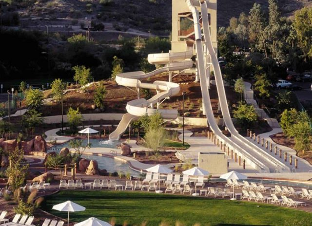 hotels with park parks