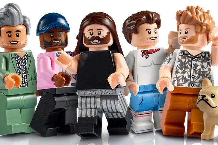 The Fab Five From 'Queer Eye' Get Their Very Own Lego Set!