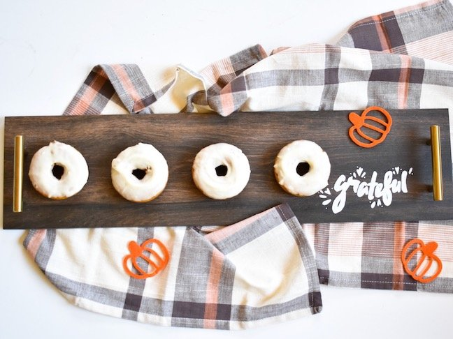 Feed Your People These DIY Baked Pumpkin Donuts