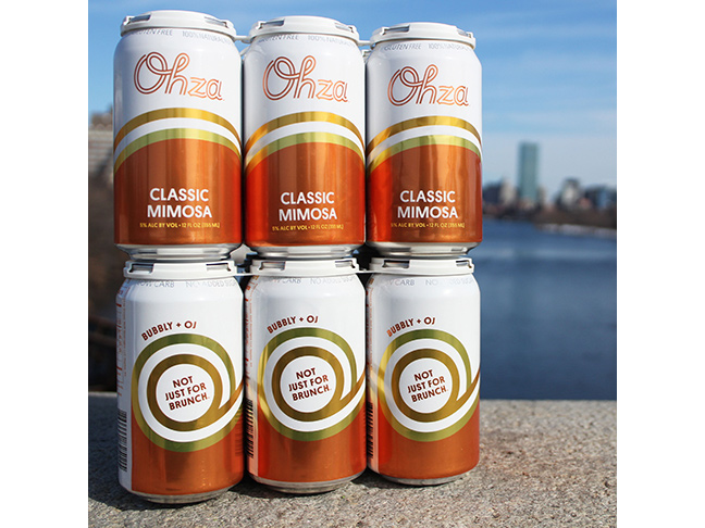 Ohza Mimosa Canned Cocktail