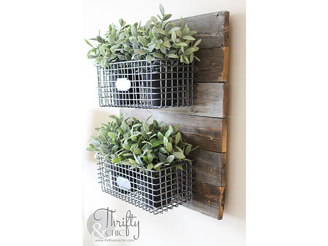 Hanging On Reclaimed Wood