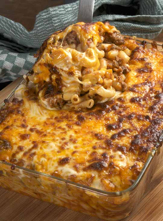 Mac and Beef with Cheese