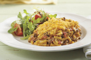 Cheddar and Beef Casserole