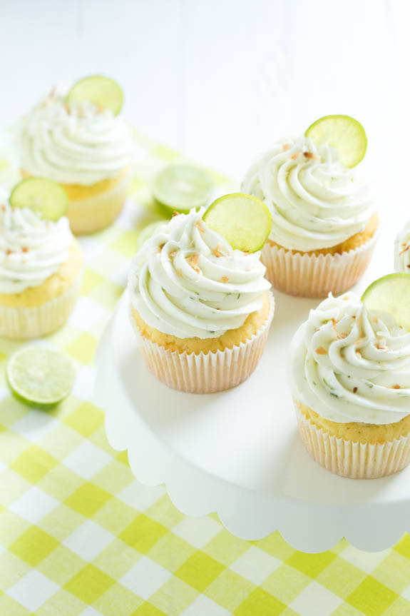 Coconut Key Lime Cupakes
