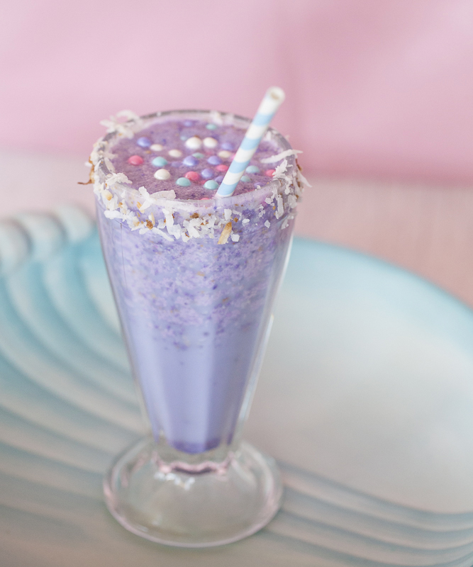 Sparkling Pearl Tropical Cocktail