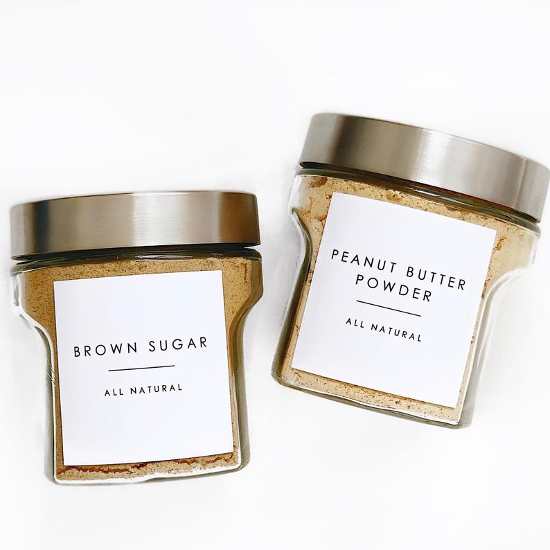 Personalized Pantry Container Labels