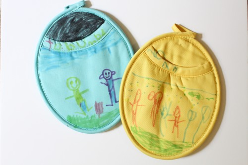 DIY Personalized Pot Holders