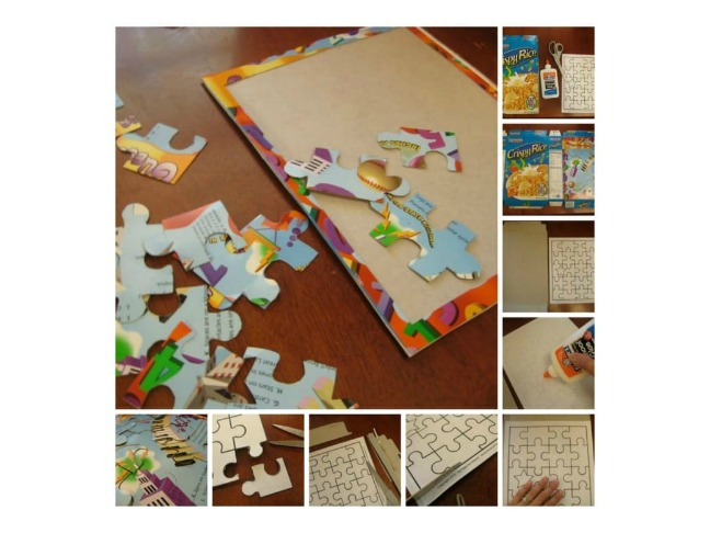Cereal Box Puzzles