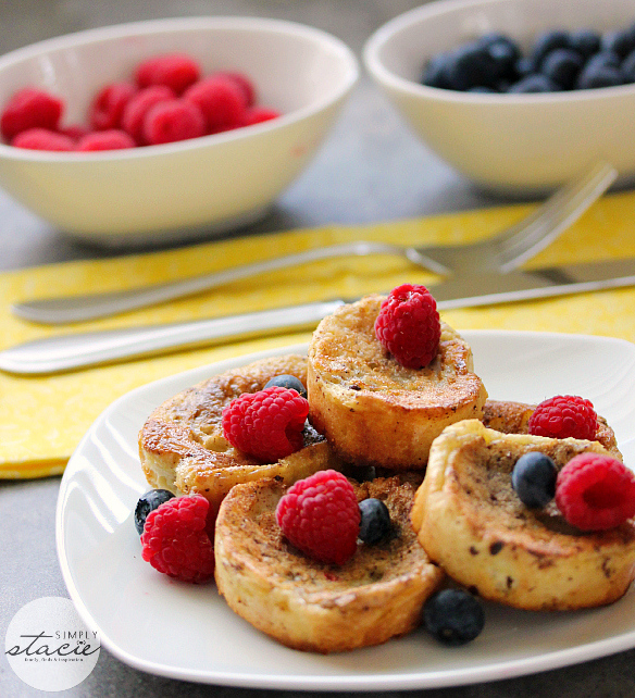 Sugarless Almond French Toast