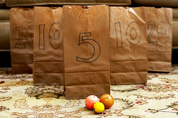 Brown Bags and Bouncy Balls