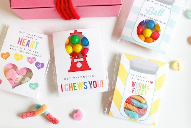 Free Printable Candy Boxes