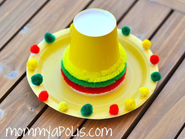 DIY Sombrero Table Toppers