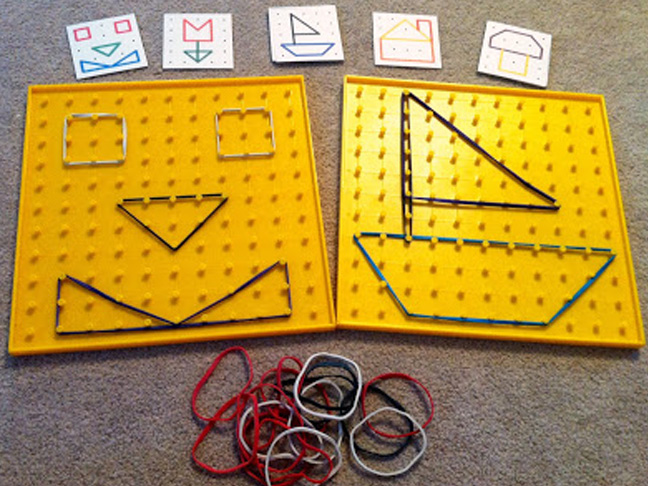 Geoboards with Patterns