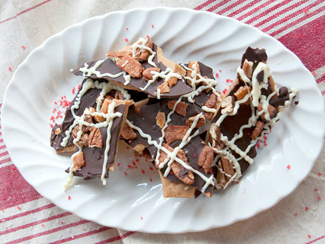 Bacon and Pecan Toffee