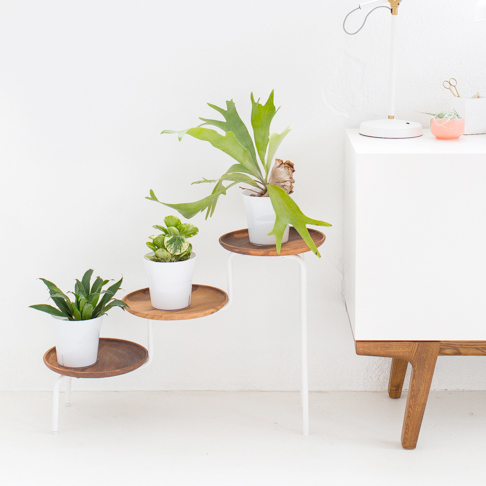 Plant Stand Upgrade from Sugar & Cloth