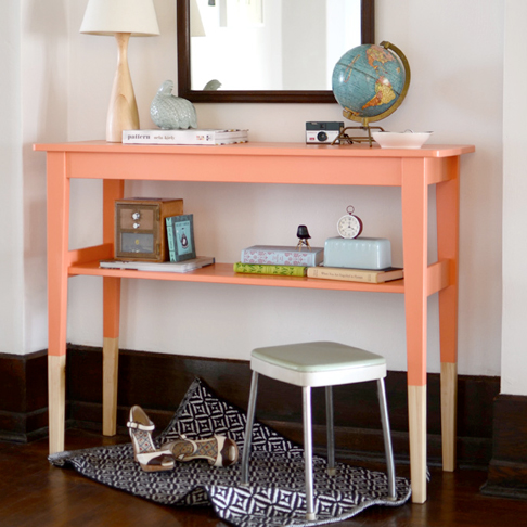 Reverse Dip Dyed Side Table from The Sweet Beast
