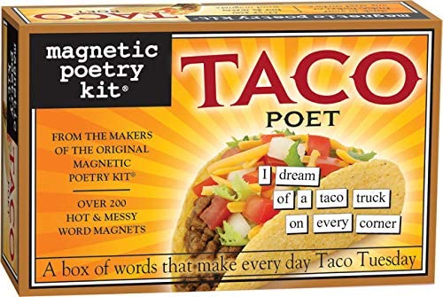 Taco Magnetic Poetry Kit